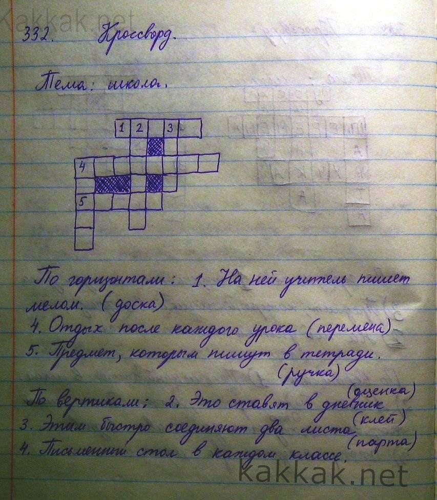 Домашние работы по русскому языку 5 класс виленкин