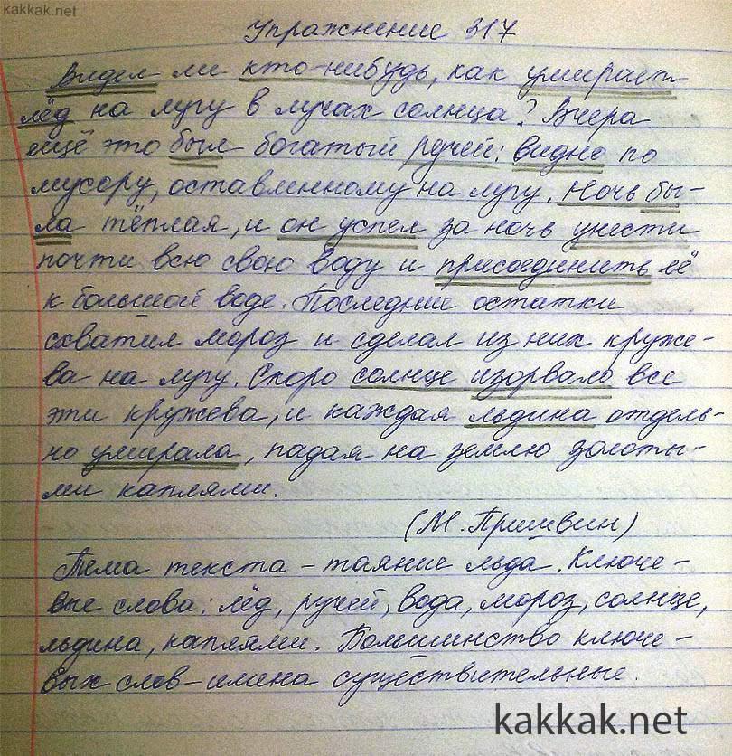 Гдз по русскому языку 6класса спишу